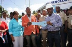 Alcalde de Boca Chica inaugura mercado municipal de Andrés