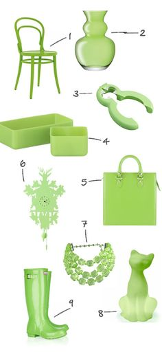 Love this shade of green. Wish my skin tone wore it better! Instead, I will just buy knick-knacks in this shade.