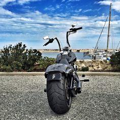 "Harley Davidson Breakout FXSB: Highball 14"" Apes, ChopZ Rear End Mod. Fat end"