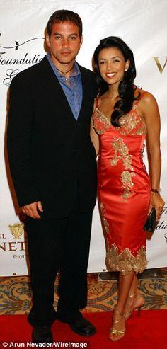 Eva Longorria and first ex husband Tyler Christopher
