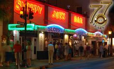 A Key West must! Open-air bar and restaurant with live music. Located on Duval Street. #keywest
