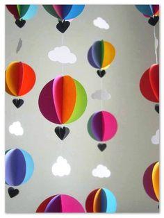 Soy Preescolar ®: #Ideas para #Marzo Qué tal un paseo entre las nubes con mucho amor, colores e imaginación. ツ