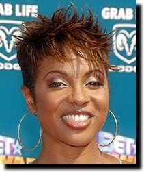 black short hairstyles - MC Lyte!! Werk it!!