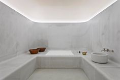 Akasha Holistic Wellbeing Centre, Cafe Royal Hotel, London | David Chipperfield Architects