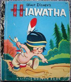 Little Golden Books - Hiawatha (1954)