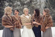 Winter Wedding Fur, Wedding Coat, Winter Bride, Wedding Hijab, Rustic Wedding, Wedding Ideas, Wedding Inspiration, Vintage Fur, Vintage Bridal