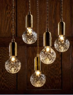 Crystal lighting! http://www.nest.co.uk/browse/product-type/lighting/light-bulbs-accessories/lee-broom-crystal-bulb
