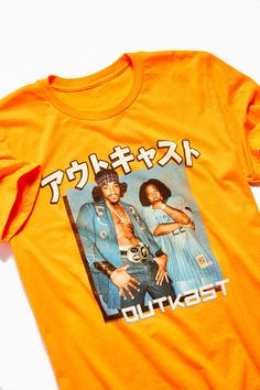 aa028af19 Outkast Kanji Blue Box Tee | Urban Outfitters