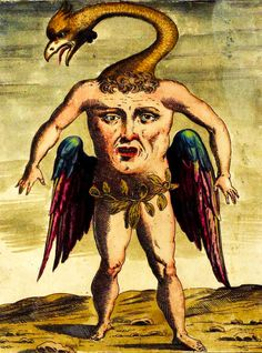 """odditiesoflife: """" Monstrosities of Evolution These bizarre illustrations are from Ulisse Aldrovandi's 1642 book, History of Monsters (Monstrorum Historia). Although the illustrations are extremely. Mythological Creatures, Mythical Creatures, Dragons, Cryptozoology, Medieval Art, Medieval Drawings, Medieval Memes, Medieval Manuscript, Classical Art"""