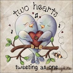 Tweeting as One 1 Clip Art Single