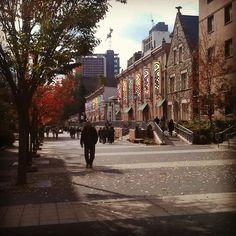 Liacouras Walk at Temple University in Philadelphia