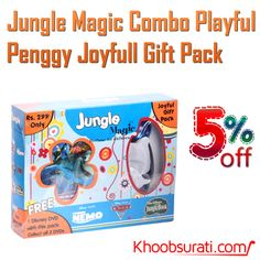 DEAL OF THE DAY Visit for Buy:- http://khoobsurati.com/ http://khoobsurati.com/deals/jungle-magic-combo-playful-penggy-joyfull-gift-pack