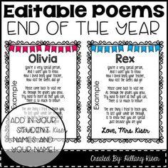 Image result for goodbye poem for child leaving preschool ...