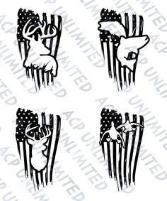 Distressed Flag Decal Sticker merica Outdoorsmen Hunting Fishing Deer Ducks Jeep #Unbranded Silhouette Cameo Projects, Silhouette Design, Cricut Vinyl, Vinyl Decals, Car Decals, Cricut Craft, Window Decals, Car Stickers, Cricut Ideas