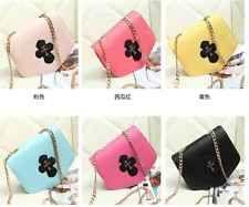 Fashion Women's Messenger Bag PU Leather Crossbody Satchel Shoulder Handbag
