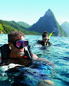 Don't forget to explore the under water world of Saint Lucia, too!
