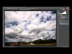 Añadir nubes a una foto mediante aplicar imagen. - YouTube