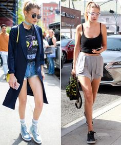 This is the supermodel Gigi. What about those denim  shorts?