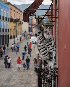 2015-11 Calavera Oaxaca Mexico. #toptravelspot #mexico #oaxaca #color #street #calavera #diadelosmuertos #colonialarchitecture #locationindependent #travel #traveling #instantraveling #instatraveling #streetphotography #travelphotography #sonyalpha