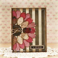Buttons, petals, prints...LOVE!