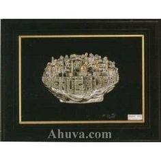 Framed Sculpture of Jerusalem Old City
