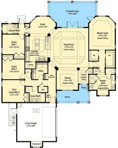 Floor 1 // http://www.architecturaldesigns.com/house-plan-33123ZR.asp