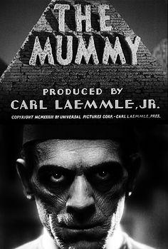 The Mummy, starring Boris Karloff, movie poster