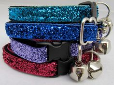 The LoLa collection BeDazzled cat collar for Funky by FunkyMutt, $10.00