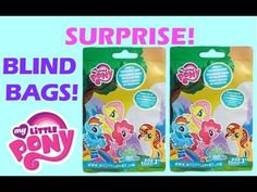 A fun My Little Pony Blind Bag Surprise Opening videos for children. In this cute video, Toy Box Magic opens two more My Little Pony blind bags to add to our collection. We opened two My Little Pony blind bags in a previous video and we got Flash Sentry and Royal Pin. In this video we open two more My Little Pony blind bags to add to our collection and we got Swanky Hank and Big Wig. https://youtu.be/DJHoKAz9HXY