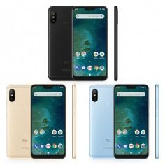 """Global Version Xiaomi Mi A2 Lite 4GB RAM 64GB ROM Cellphone Snapdragon 625 Octa Core Android One 5.84"""" 19:9 Full Screen Android One, Cheap Mobile, 4gb Ram, Cell Phone Accessories, Smartphone, Products, Rome, Gadget"""