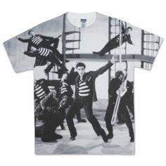 Elvis Jubilant Felons Sublimated T-shirt