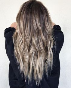 10 medium to long hair styles ombre balayage hairstyles ideas for women 2019 35 10 medium to long hair styles ombre balayage hairstyles ideas for women 2019 35 Balayage Hair Blonde, Brown Blonde Hair, Blonde Ombre, Brunette Hair, Winter Blonde Hair, Beige Blonde, Gray Hair, Ombre Hair Color, Brown Hair Colors