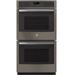 GE Profile PK7500EJES-Slate 27' Built-in Double Convection Wall Oven with 8.6 cu. ft. Total Capacity -- See this great product.