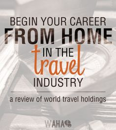 Work from home for World Travel Holdings and Receive Full Time Benefits! Travel Agent Career, Become A Travel Agent, Travel Jobs, Business Travel, Travel Pro, Business Ideas, Work From Home Opportunities, Work From Home Jobs, Make Money From Home