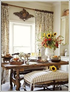 Great French Country decorating ideas that are gorgeous! If you need help figuring out how to decorate your home in the French Country style, this page is for you!  The post  French Country d ..
