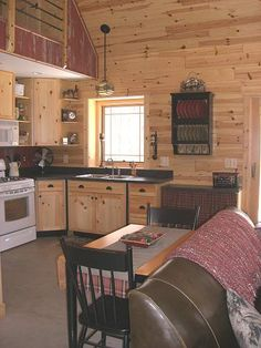 pretty cabin kitchen #cabin