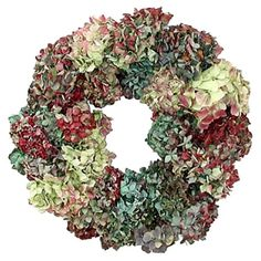 I pinned this Dried Hydrangea Wreath from the Decadent Deals & Splendid Splurges event at Joss and Main!