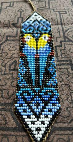 Talking to the Dead - Spirit Communication - LovePsychic Bead Loom Patterns, Beading Patterns, Bead Loom Bracelets, Tear, Beaded Animals, Peyote Stitch, Loom Beading, Bead Art, Confident