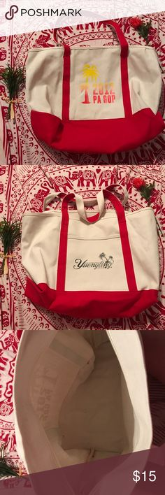 2012 PA GOP Tote Tote from the 2012 Republican National Convention in Tampa Bay! Sponsored by Yuengling. Open to offers! Bags Totes