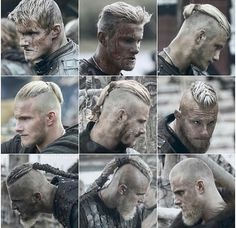 Which is your favourite Bjorn's hairstyle? Vikings Tv Series, Vikings Tv Show, Viking Men, Viking Life, History Channel, Ragnar Lothbrok Haircut, Bjorn Lothbrok, Viking Haircut, Viking Hairstyles