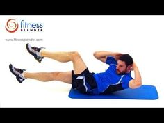 8 Minute Abs Workout Routine - At Home Core Exercises, Fitness Blender