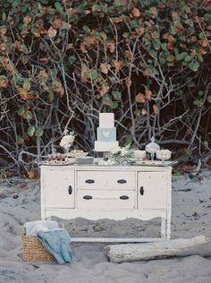 Casamento vintage na praia - Noivinhas de Luxo