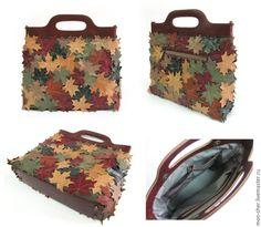 Pretty Leather Bag Tutorial!