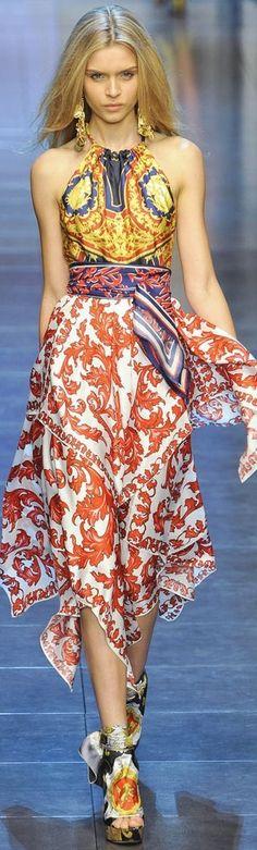 Dolce & Gabbana Summer 2016 Carretto Siciliano Collection