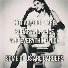 Female Barbers Rule!!!