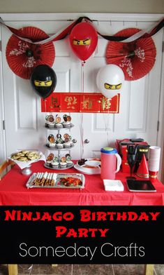 Image result for ninjago birthday party