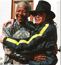 Nelson Mandela Rare historical photos,we collect some very antique stuff for you, in this , Nelson Mandela with Michael Jackson, http://media111.com/nelson-mandela-rare-historical-photos-images-pics/