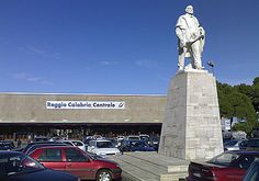 """Praça Garibaldi"". Giuseppi Garibaldi. # Reggio Calabria, Calábria. Itália."