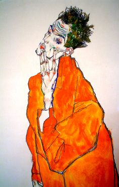 Zeichnungen - Famous Last Words Kunst Inspo, Art Inspo, Gustav Klimt, Art And Illustration, Reclaimed Vintage, Figurative Kunst, Funky Art, Classic Paintings, Expressive Art
