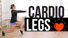 Let's focus on toning your legs, butt, and thighs as we work through some apartment friendly cardio. No intense jumping but your heart rate and calorie burn will sky rocket! If you love music, dance, and lunges, this fun at home workout is for you!
